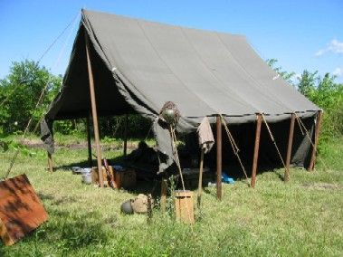 good quality real military tent