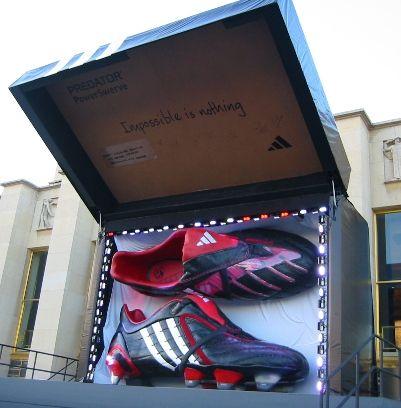 Adidas Predator | Guerilla marketing, Guerrilla, Street