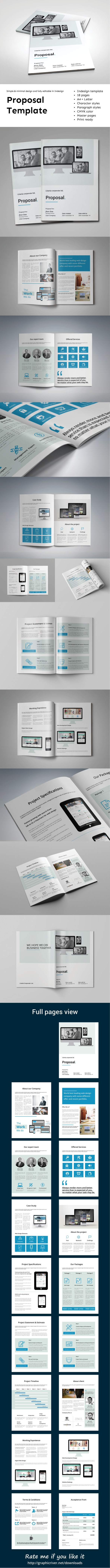 Professional corporate indesign proposal template that can be used professional corporate indesign proposal template that can be used for any type of industry saigontimesfo