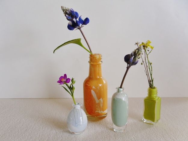 Little Bud Vases | 18 Miniature Craft Projects That Will Melt Your Heart