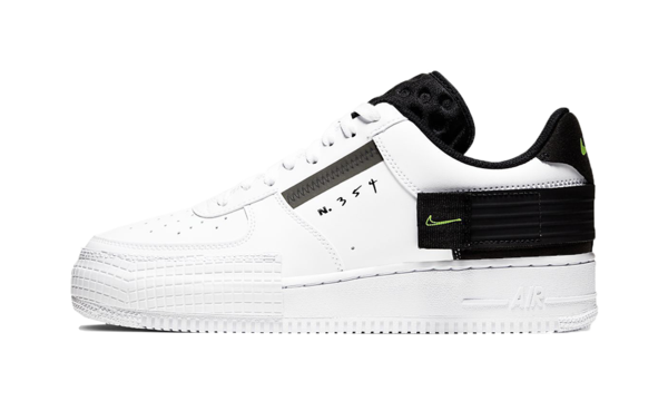 nike air force 1 bande noir