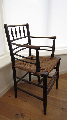 William Morris Sussex Chair English Arts And Crafts Movement