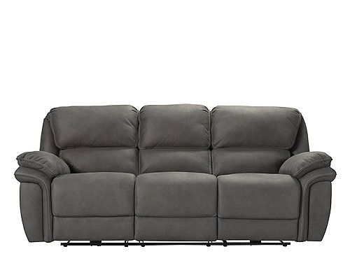 Chaise Lounge Sofa Sink deep into the cloud soft fort of the Skye microfiber power reclining sofa