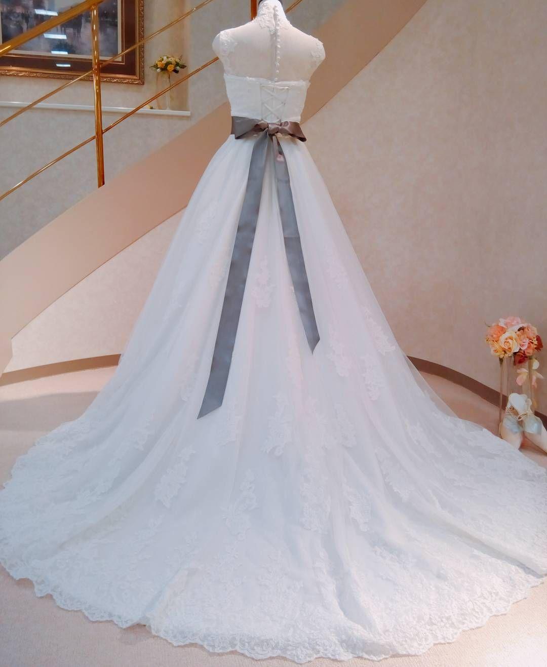 #サッシュリボン #サッシュベルト�� #weddingdress#colordress#bridalsalonai#bridal#sapporo#ブライダルサロン愛 http://gelinshop.com/ipost/1520195131671326877/?code=BUY0Wr8jDCd