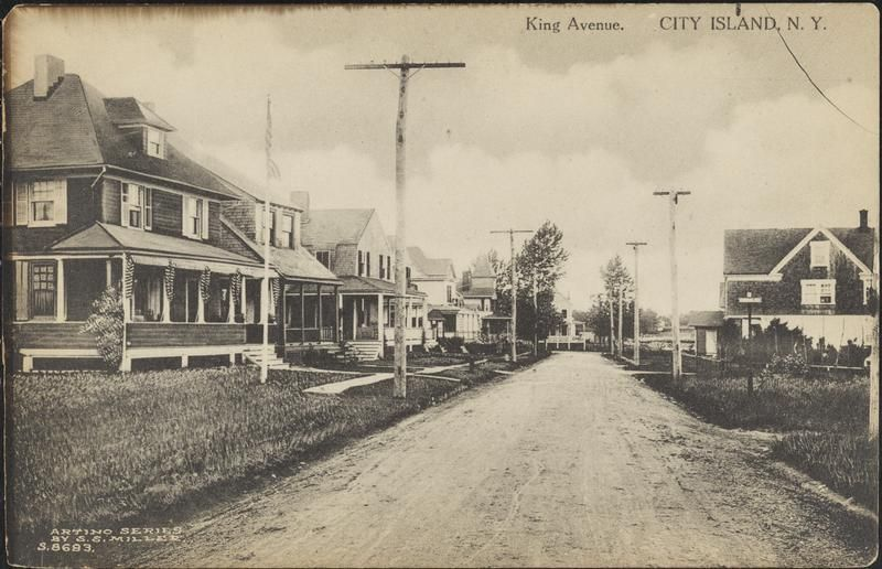 King Avenue City Island N Y Postcard Image Ca 1910 City Island Photo Island