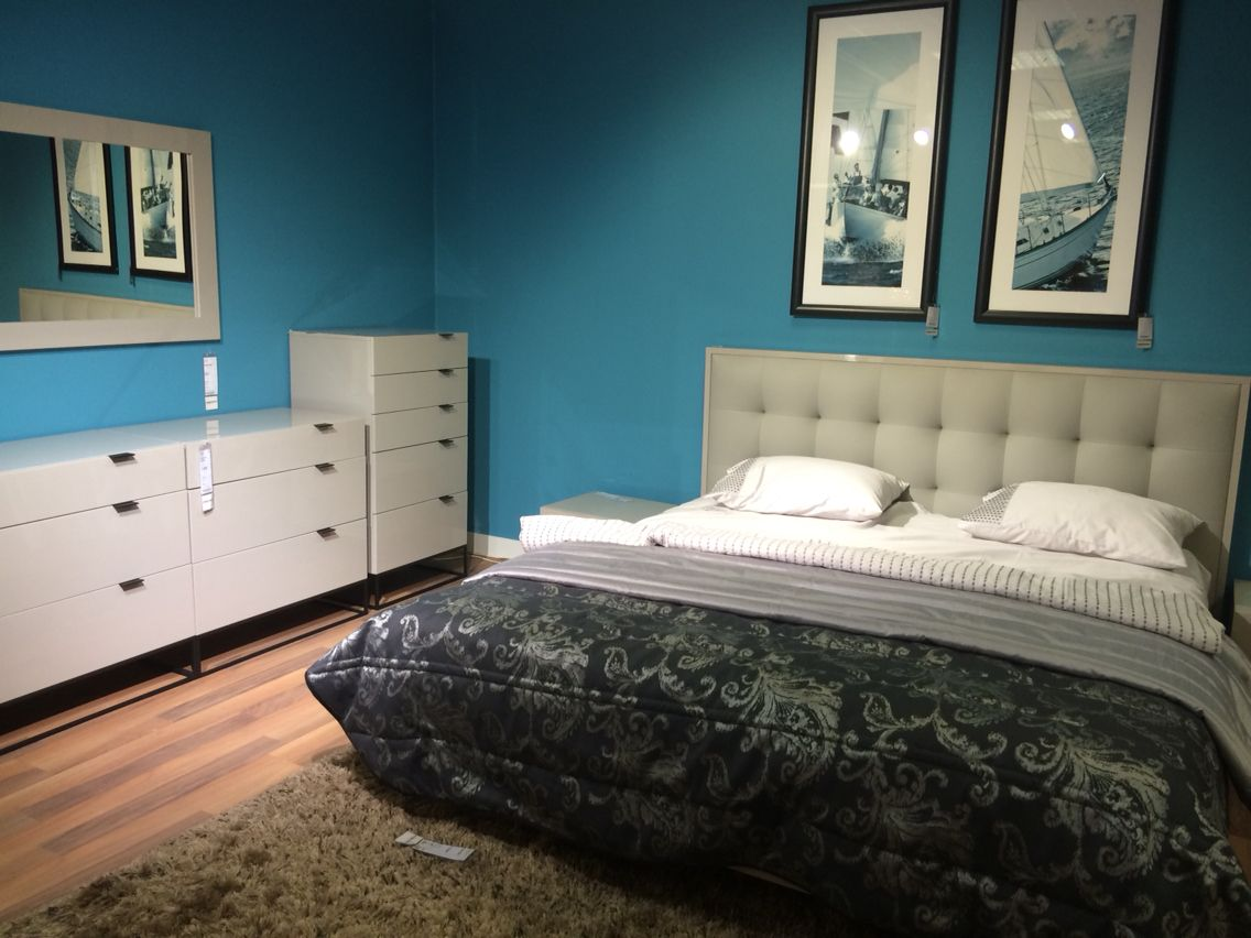 Bedroom Cyan Grey · Home DecorHomemade ...