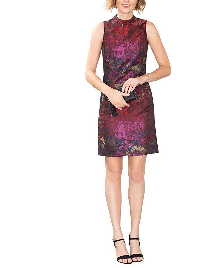 ESPRIT Collection Damen Kleid 106EO1E010-Regular Fit ...