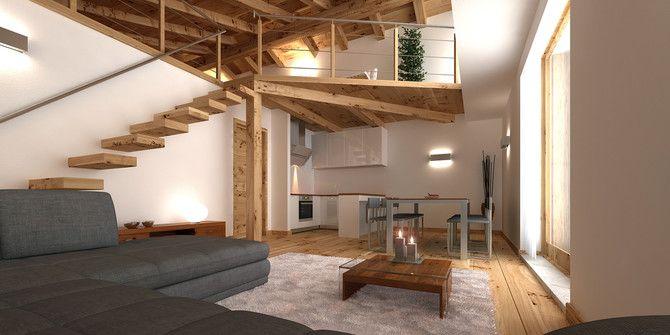 Vendita appartamento in baita di montagna al Melezet. Case