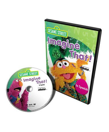Take a look at this Imagine That - Spanish DVD by Sesame Street Collection on #zulily today!