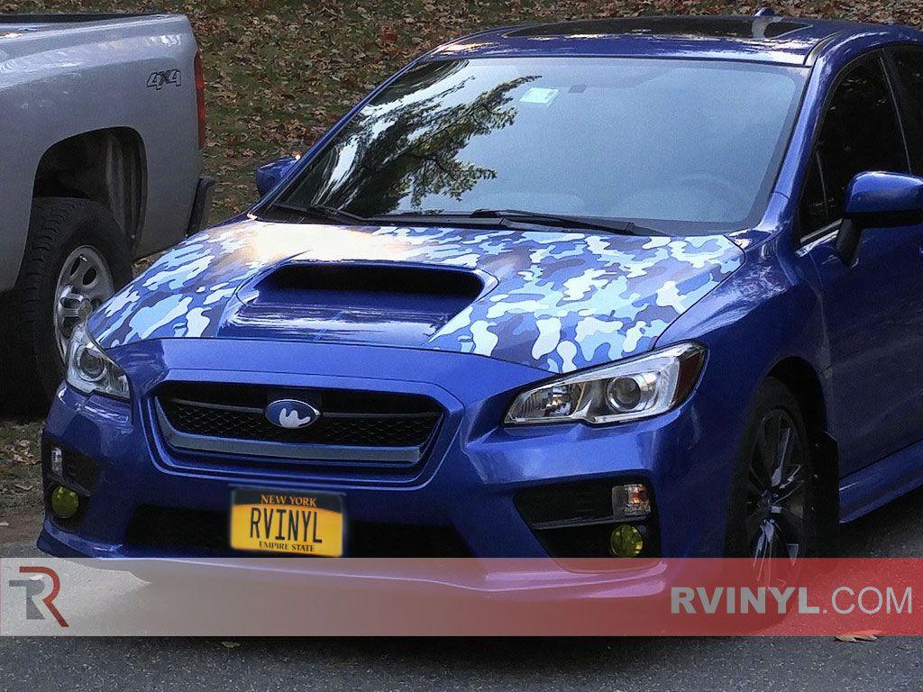 Rwraps™ Camouflage Vinyl Film Wrap - Blue Camo  fa2f3b767