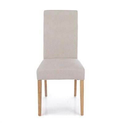 Monroe Chaise déhoussable pied naturel