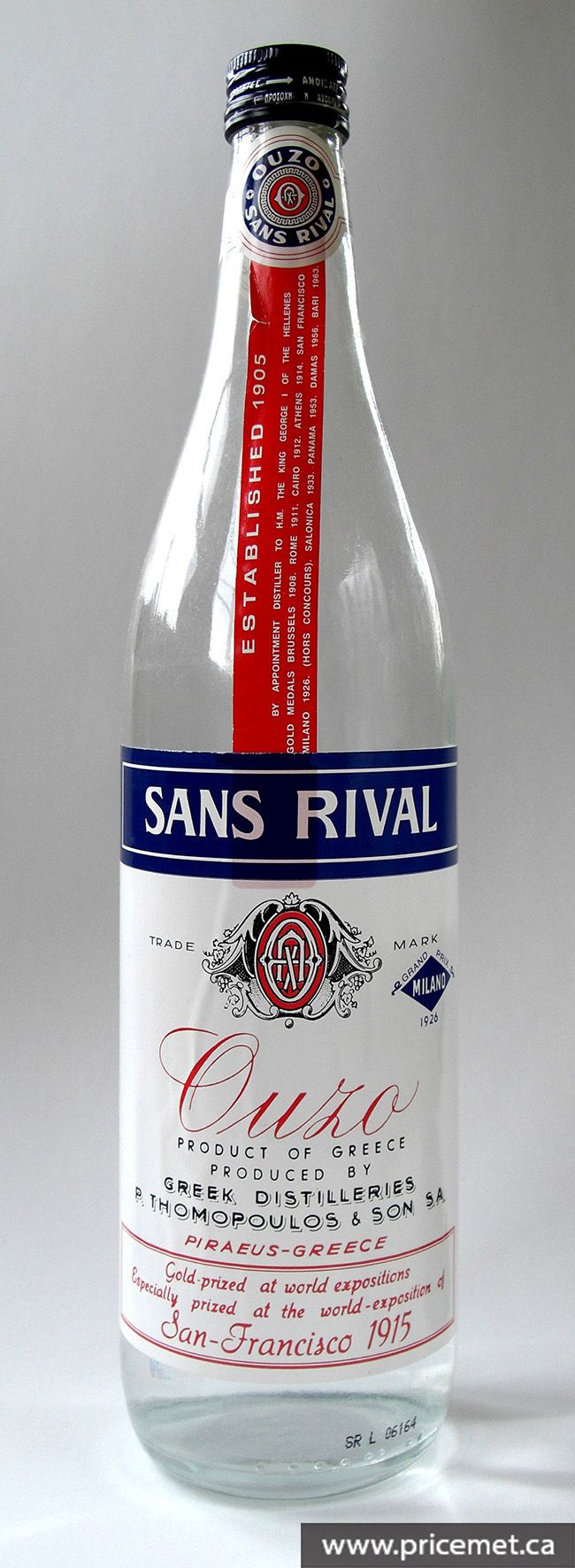 Ouzo Is An Anise Flavoured Aperitif That Is Widely Consumed In Greece And Cyprus Http Www Pricemet Ca With Images Ouzo Greek Wine Sans Rival
