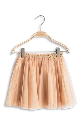 50c8584372064a Esprit - - Mesh rok met glanzende voering van taf kopen in de online shop  Ballet
