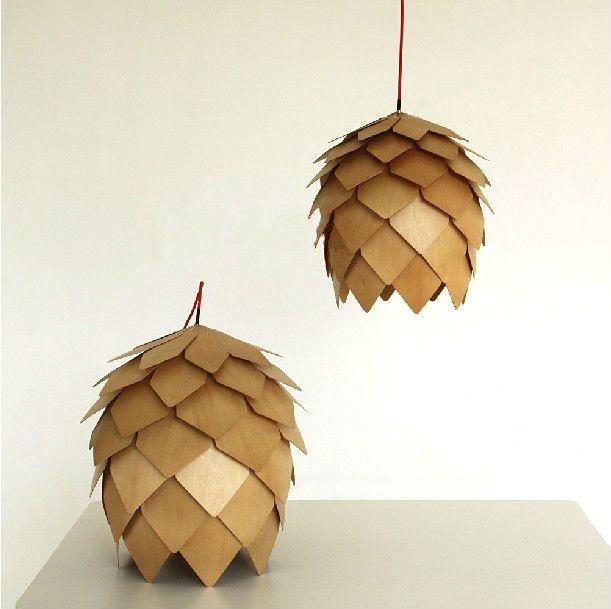 2013 NEW Crimean Pinecone Pendant Light Indoor | Wooden