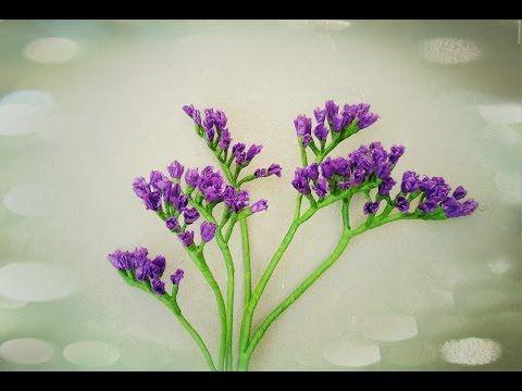 Diy craft tutorial how to make paper flower statice flower by diy craft tutorial how to make paper flower statice flower by crepe paper mightylinksfo