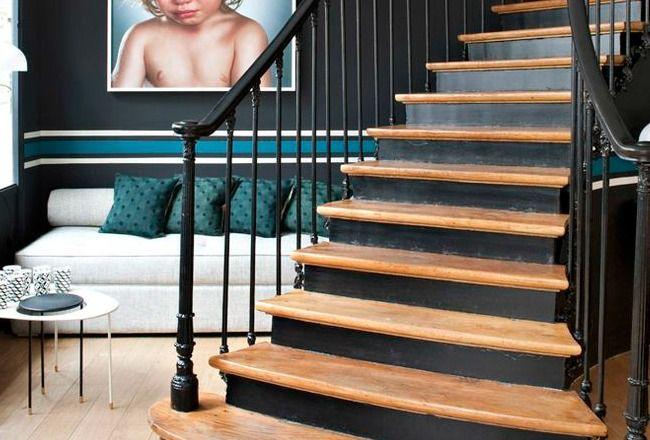 Comment d corer son escalier a lire sur cocon d co et tendances corridor home decor et - Salon decorer a lire avant de commencer ...