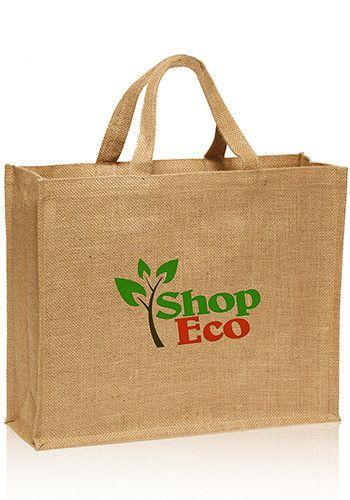 b1677d1bf Large Jute Tote Bag | TOT44 | Discount Mugs | Jute tote bags, Bags ...