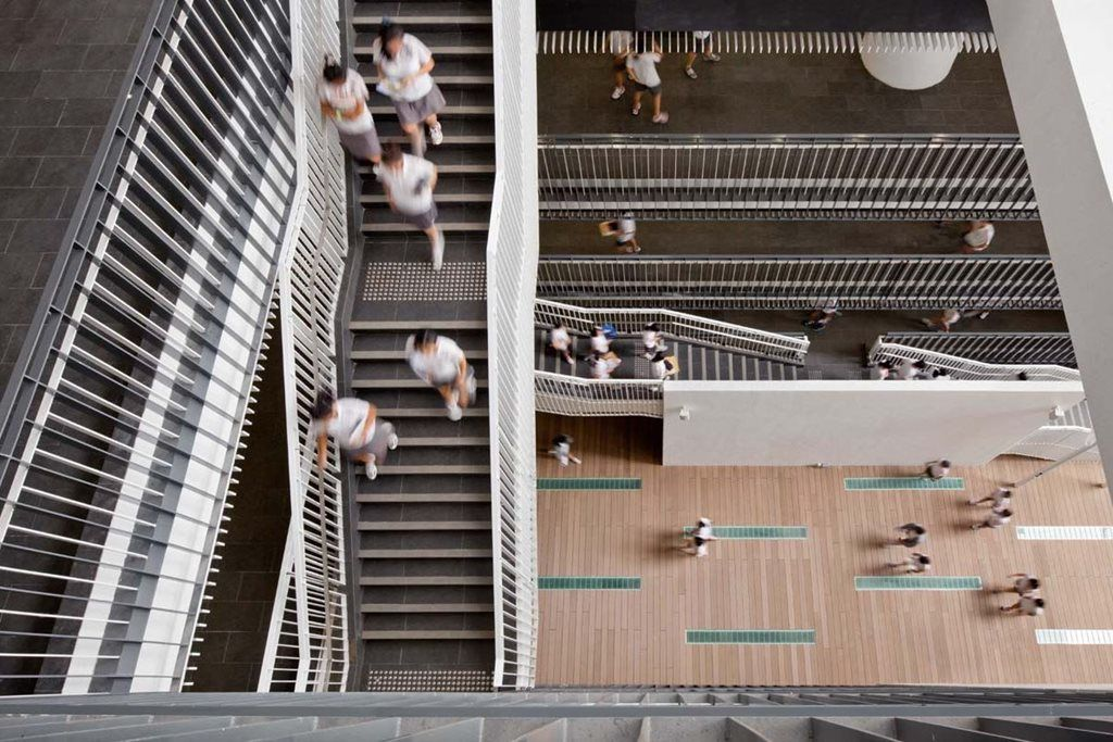 Hayball Architect Responds To High Rise Schools In Sydney   And Three  International Case Studies · Study ArchitectureSchool ArchitectureBest ...