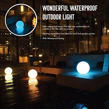 solar pool light outdoor color changing led ball light waterproof ...