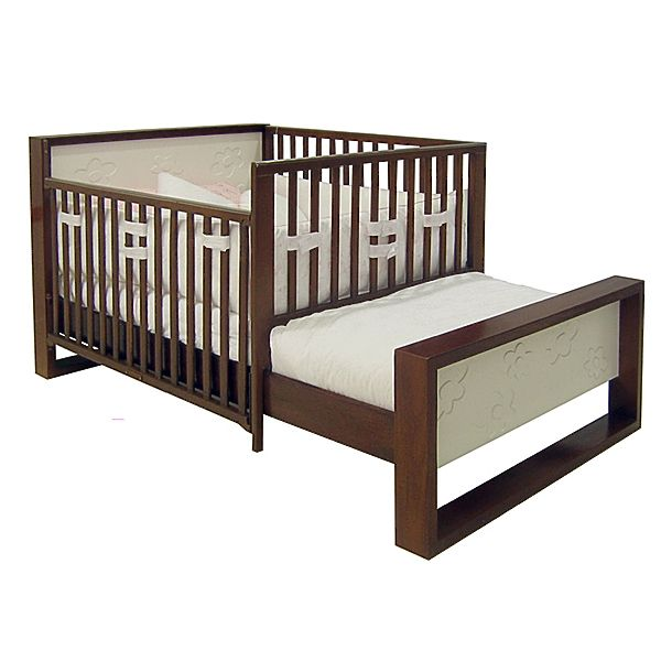 Pics photos cama cuna corral madera para bebe portal for Cama y cuna