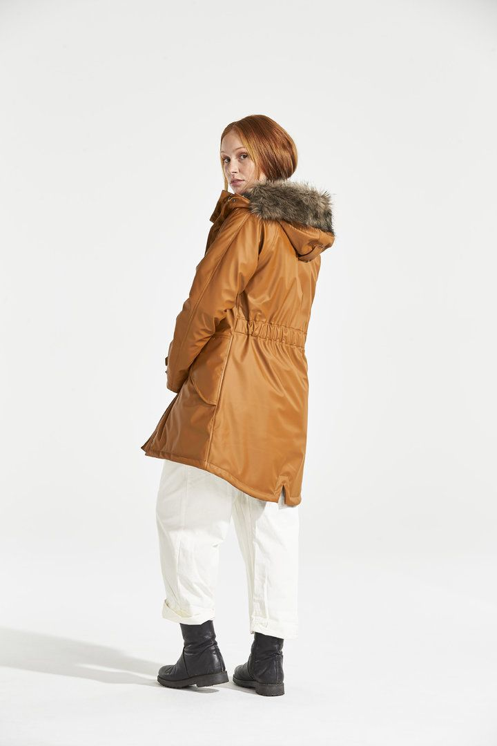 huge selection of 1ab64 48cb2 DIDRIKSONS Damen Wintermantel Parka Regenmantel BRISA Leder ...
