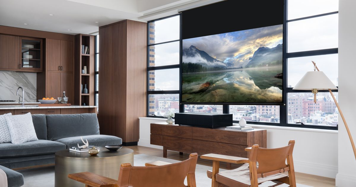 Tv Vs Projector Which Big Screen Makes The Most Sense For You Best Home Theater Projector Best Home Projector Best Home Theater