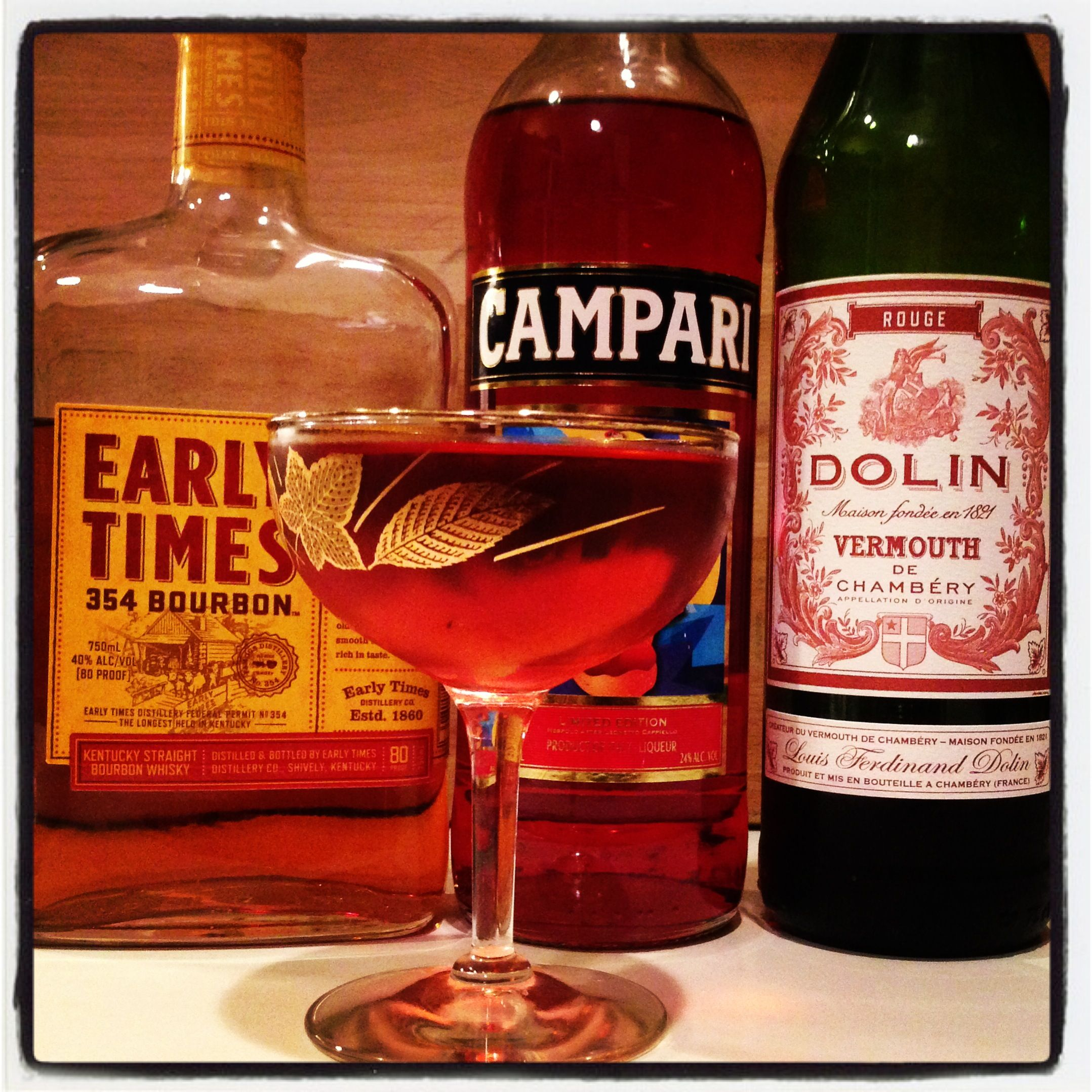 Boulevardier Bourbon Sweet Vermouth Campari Lemon Twist Cocktails Campari Cocktails Mixology