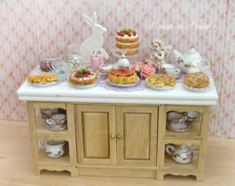 Miniature Dollhouse Home Baking Workshop by Minicler on Etsy