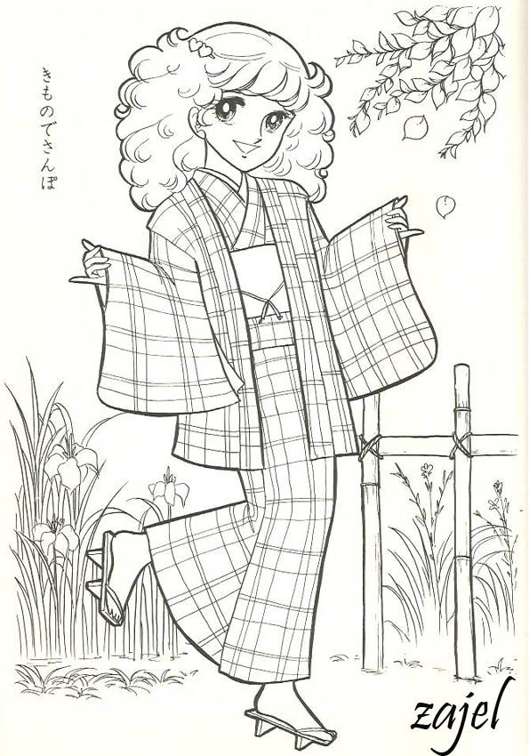 Pin by ommy ja on Shoujo Coloring | Pinterest | Coloring books ...