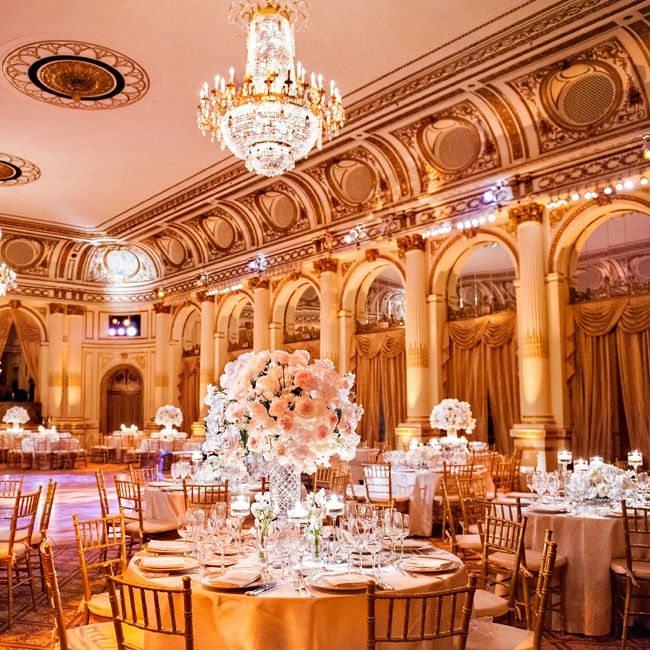 Elegant Wedding Reception Decoration: Elegant Plaza Reception