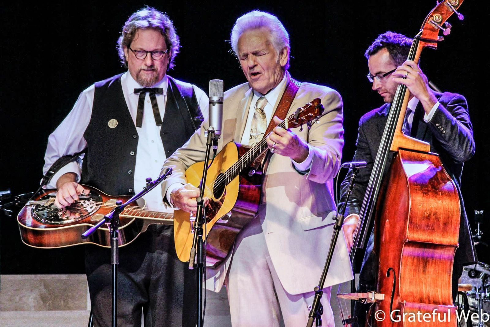 Jerry Douglas, Del McCoury & Alan Bartram