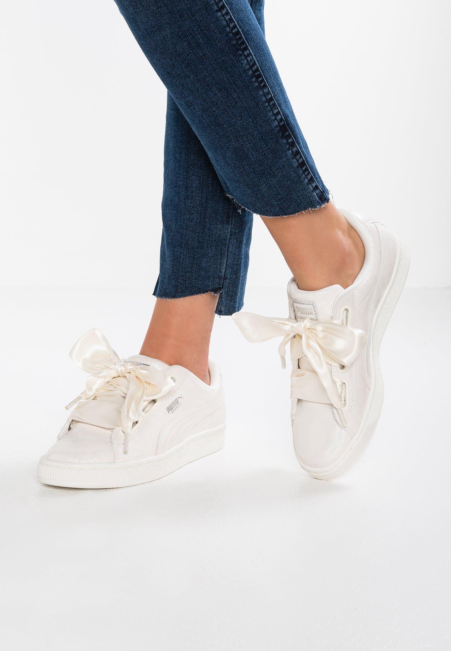 BASKET HEART NS Baskets basses white | fashion insp