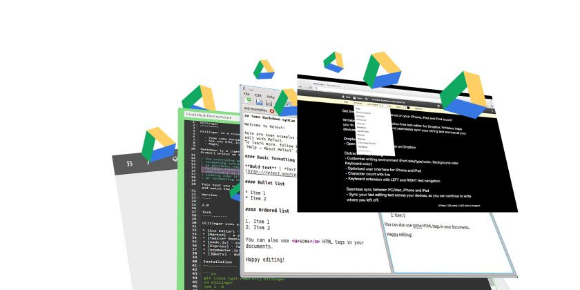 6 Markdown Editors That Play Nice With Google Drive Google drive