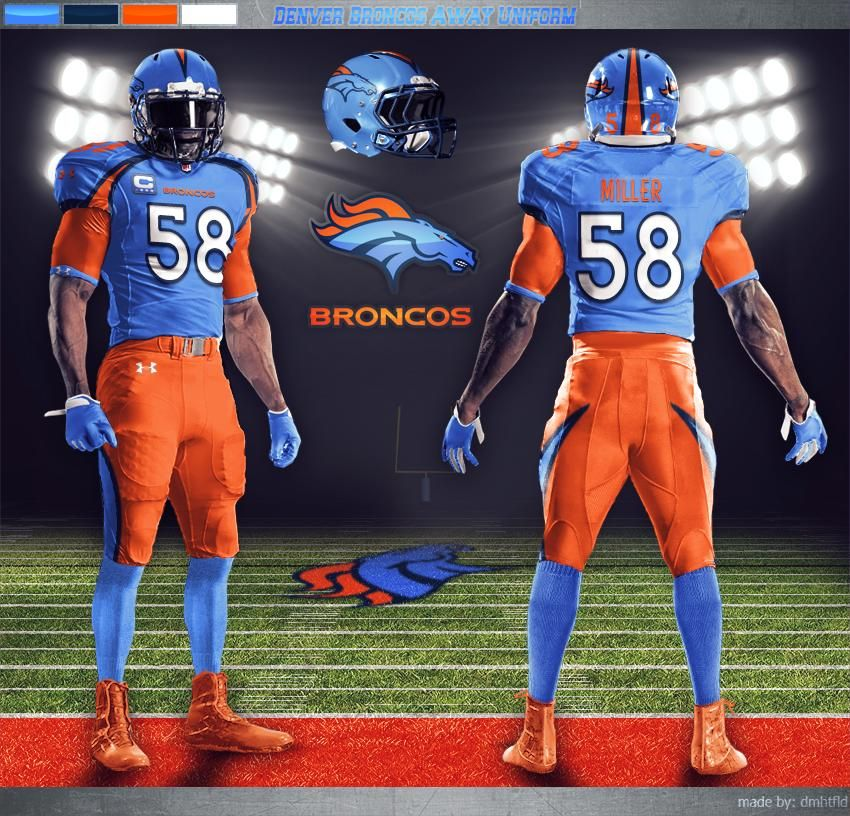 San Diego Chargers Fan Forum: Pin By Brian Thompson On New Broncos Uni Ideas