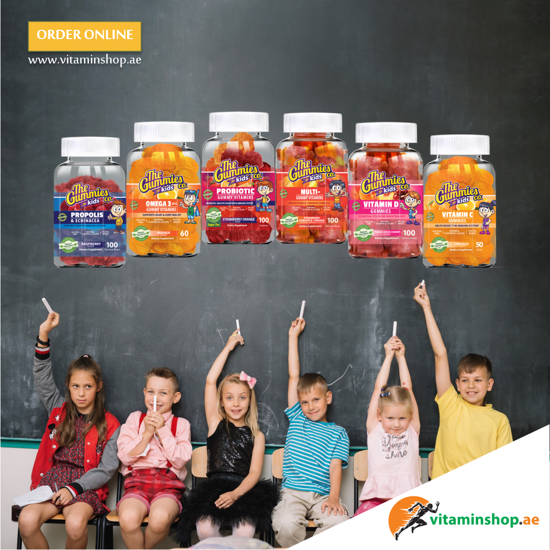 How About Something That Is Healthy And Tasty Your Kids Will Love The Tasty And Health Products From The Gummies Co Go Grab Their Favorite Flavor هل تفكر