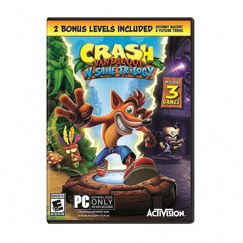 Crash Bandicoot N. Sane Trilogy Pc Video Game