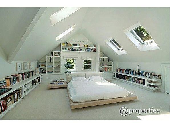 Evanston Home Attic Bedroom Designs Loft Room Loft Spaces
