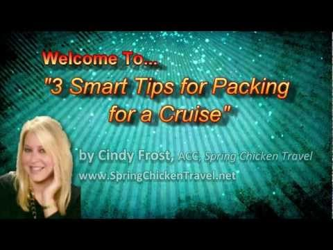 Smart Tips for Packing for a Cruise