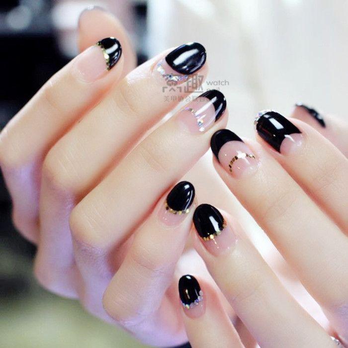 ̗̀ @bagmilk ̖́- | nails。 | Pinterest | Manicure, Korean nail art ...