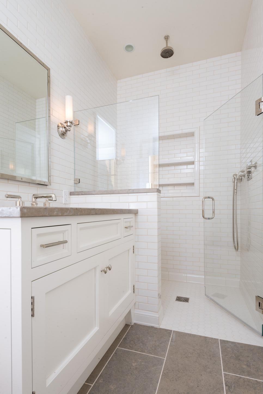 Search Viewer Bathrooms Remodel Bathroom Remodel Master Minimalist Small Bathrooms Half tiled bathroom window