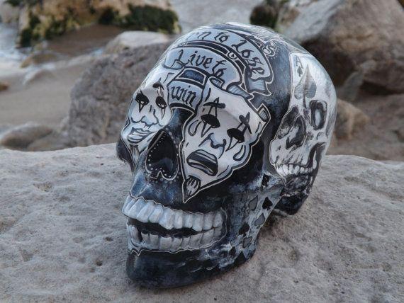 Unique Handmade Handpainted Motorhead Lemmy Kilmister Tattoo