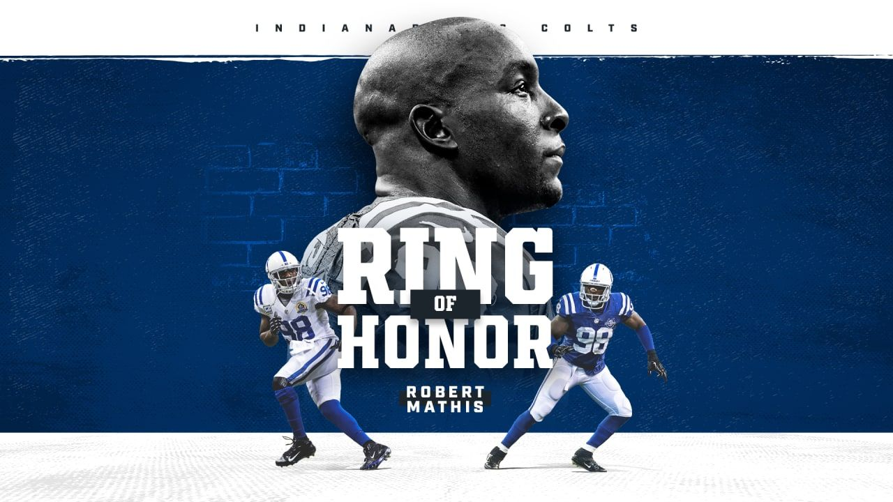 Robert Mathis To Be Inducted Into Colts Ring Of Honor On