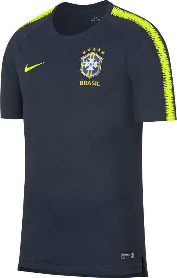 a419b2473a Nike Brasil CBF Breathe Squad Men s Soccer Top