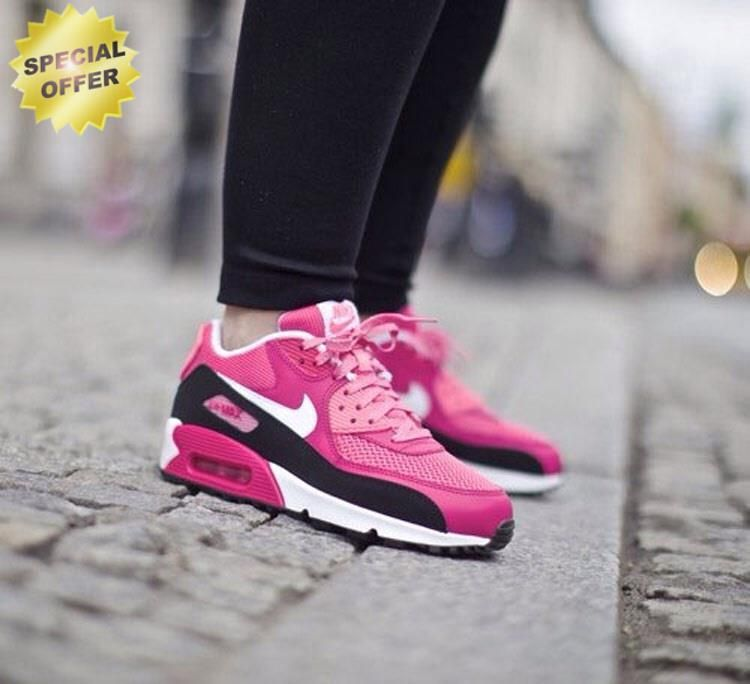 new product b367b 64d3c Vivid Pink White Pink Glow Nike Air Max 90 LE (GS) 631392-600