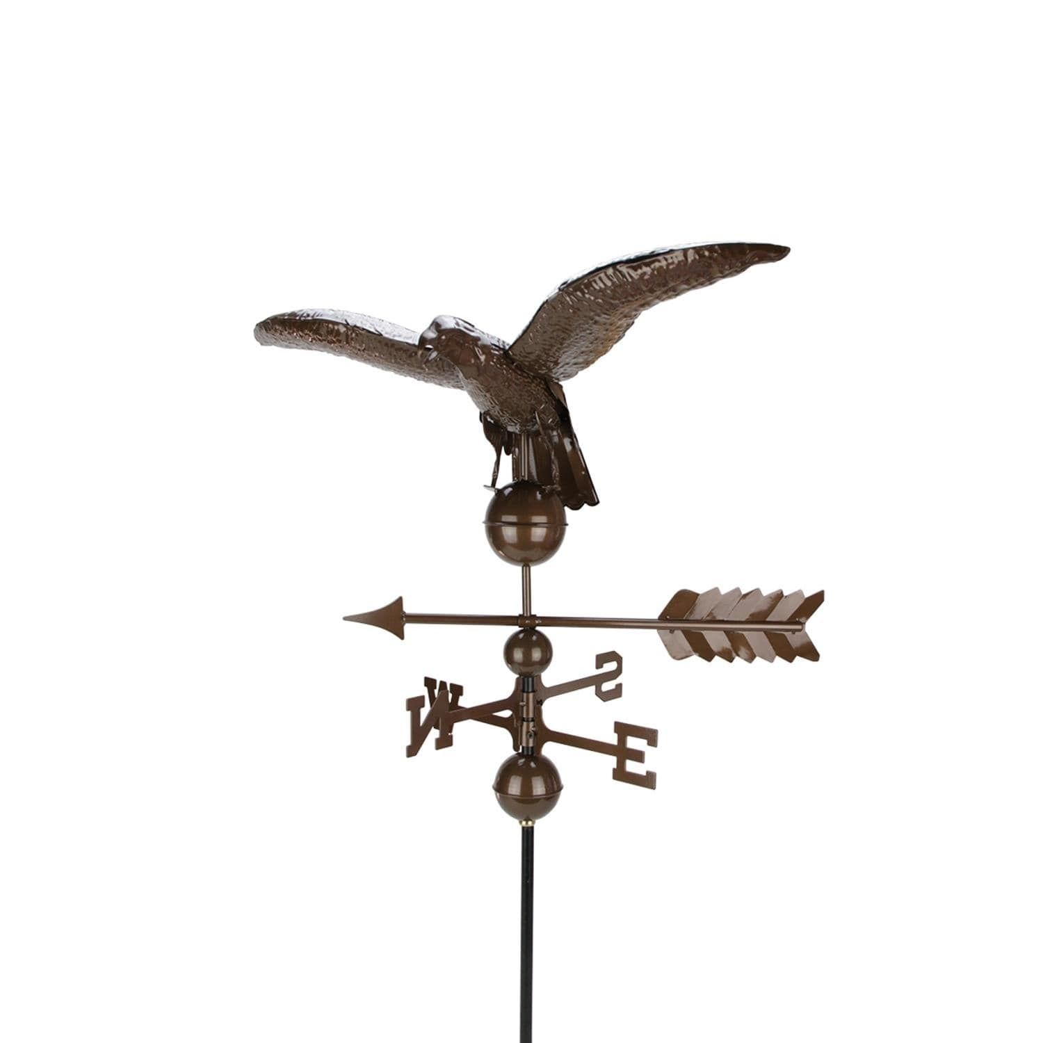 Best 3 Polished Chocolate Brown Eagle Outdoor Weathervane Outdoor Decor Iron N A In 2019 400 x 300