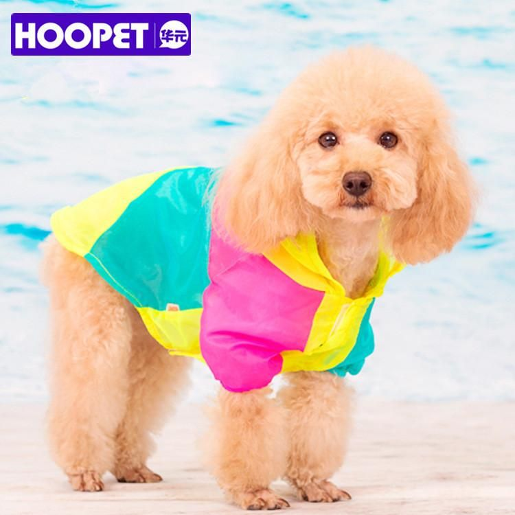 Summer Dog Clothes Light Stitching Color Sunscreen UV Protection ...