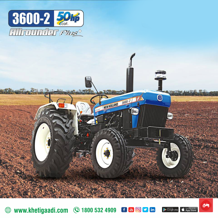 50 Hp Engine 8 Forward 2 Reverse Gears 2500 Engine Rated Rpm New Holland Tractor New Holland New Tractor