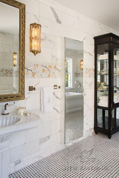 Aspen New Ravenna Room Bath in 2019 Stone mosaic