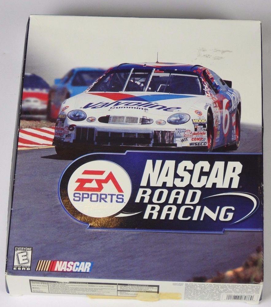 NASCAR Road Racing (PC, 1999) Windows 95 & 98 EA
