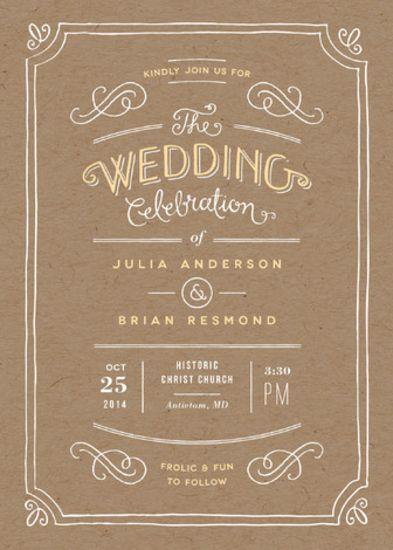 Hand Delivered Wedding Invitations Harvest Pinterest Wedding